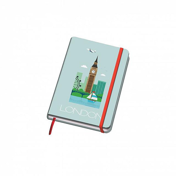 Cuaderno Vesta City - Tamaño A6 - London