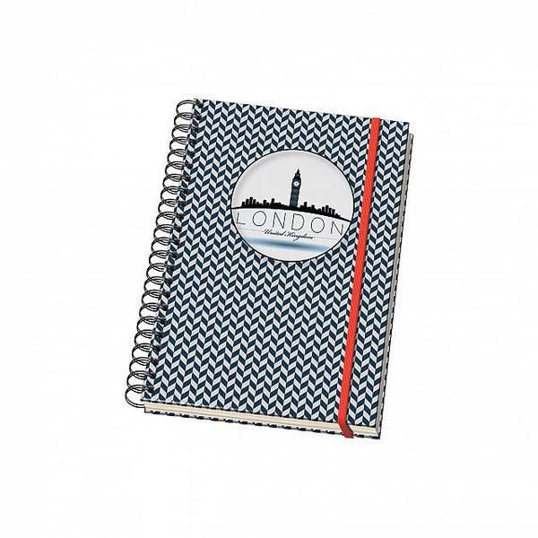 Cuaderno Vesta City Espiral - Tamaño A5 - London