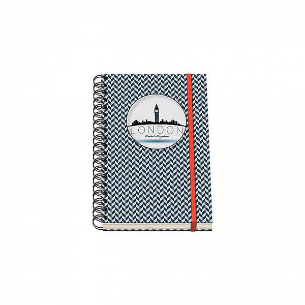 Cuaderno Vesta City Espiral - Tamaño A6 - London