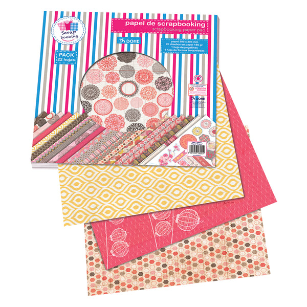 "Pack de Scrapbooking - Álbum cosido japonés ""Enjoy"""