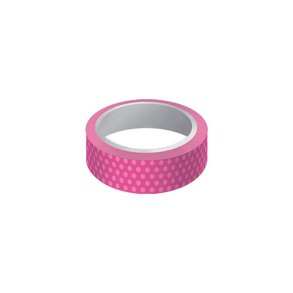 "Cinta decorativa whasi tape ""pink"""