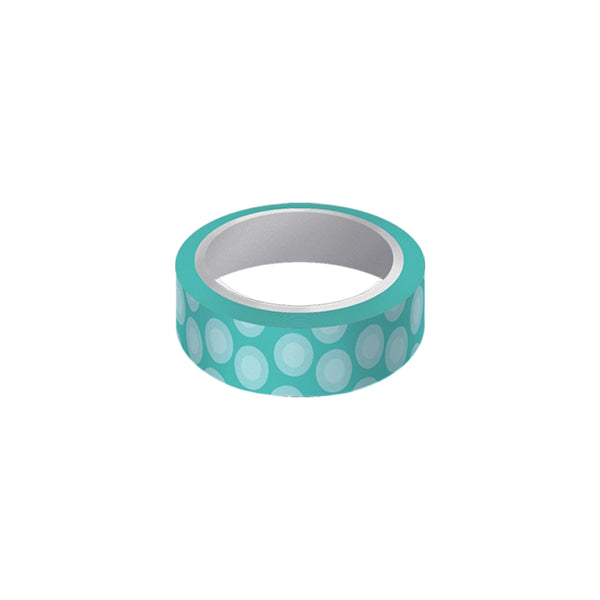 "Cinta decorativa whasi tape ""blue"""