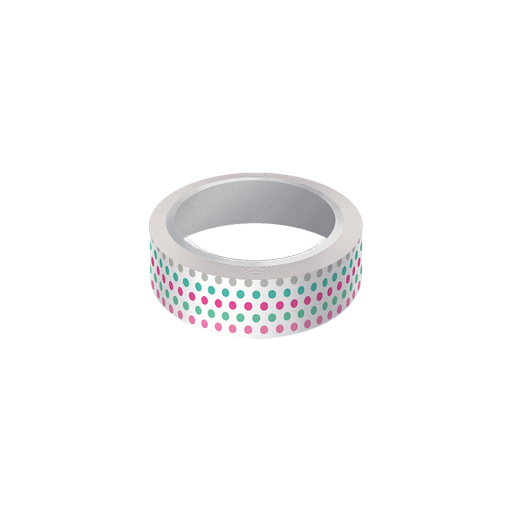 "Cinta decorativa whasi tape ""dots"""