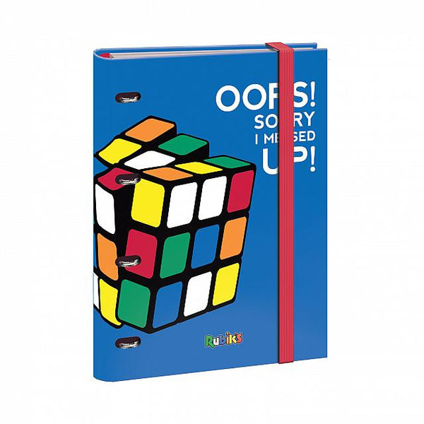 Rubik Color - Carpeta recambio anillas 25 mm Azul
