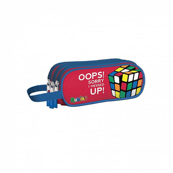 Rubik Color - Portatodo triple Rojo