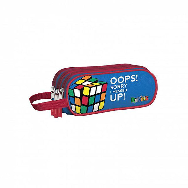 Rubik Color - Portatodo triple Azul