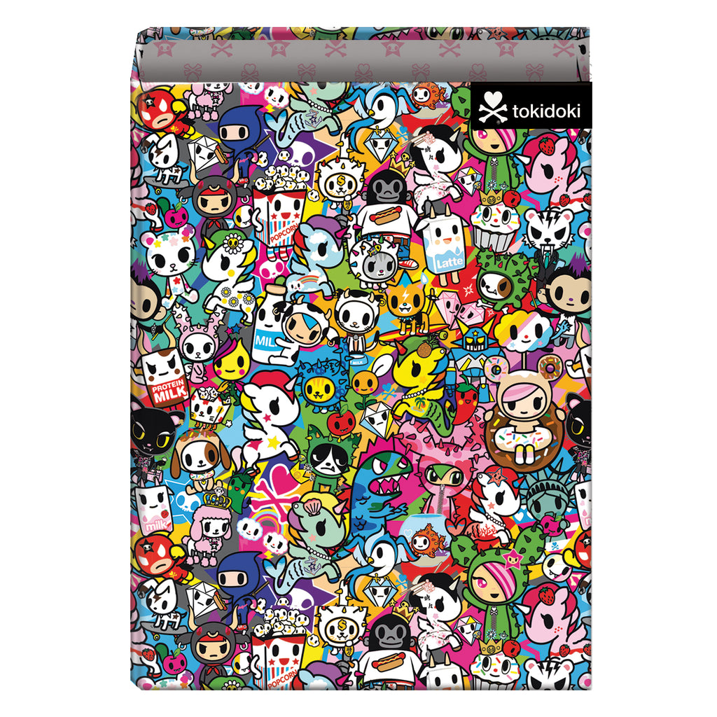 "Tokidoki ""START"" - Carpeta 4 anillas 40 mm"