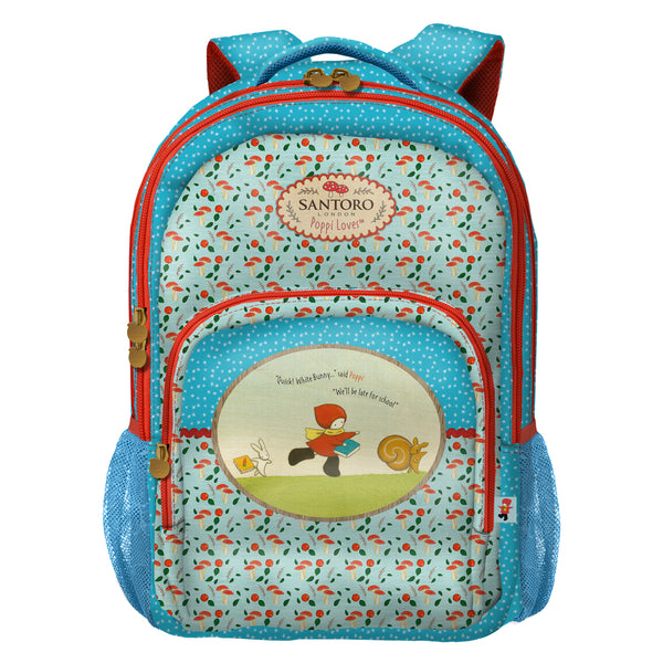 Mochila 3 compartimentos - Santoro - Poppi Loves - Catch Me