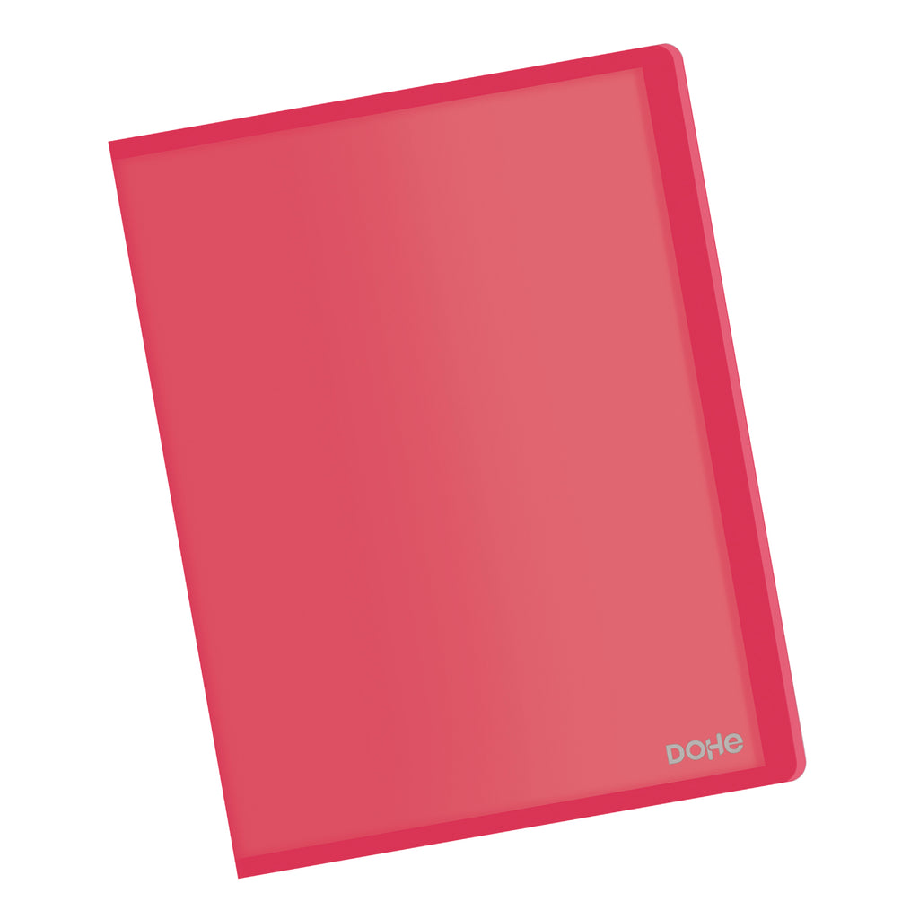 Carpeta Polipropileno 30 fundas (80 mic) Flexible Rojo