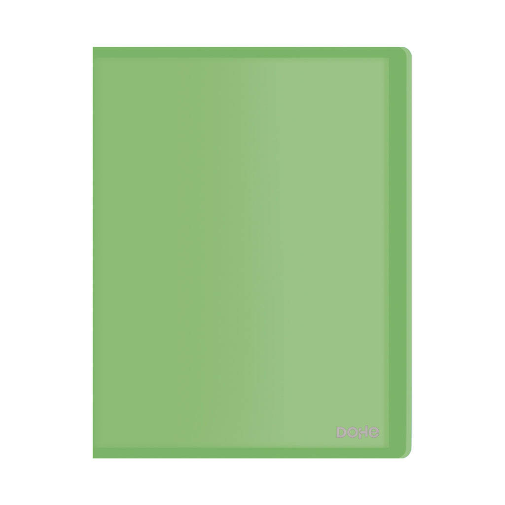 Carpeta Polipropileno 30 fundas (80 mic) Flexible Verde