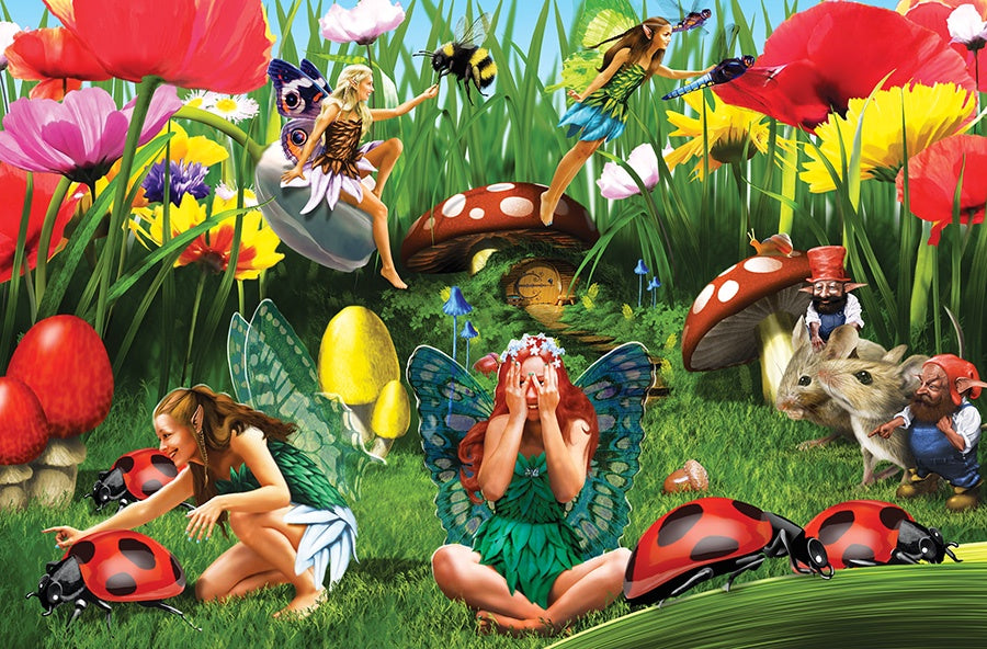 Lady Bug Fairies 60 pce Puzzle