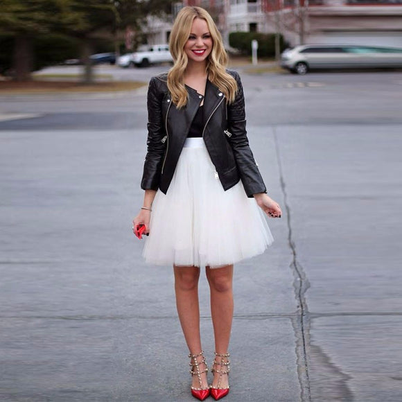 Women's Fabulous Short Tulle Skirt