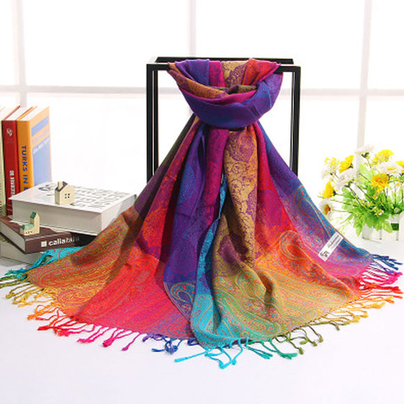 Fashion Colourful Spring Look Scarf