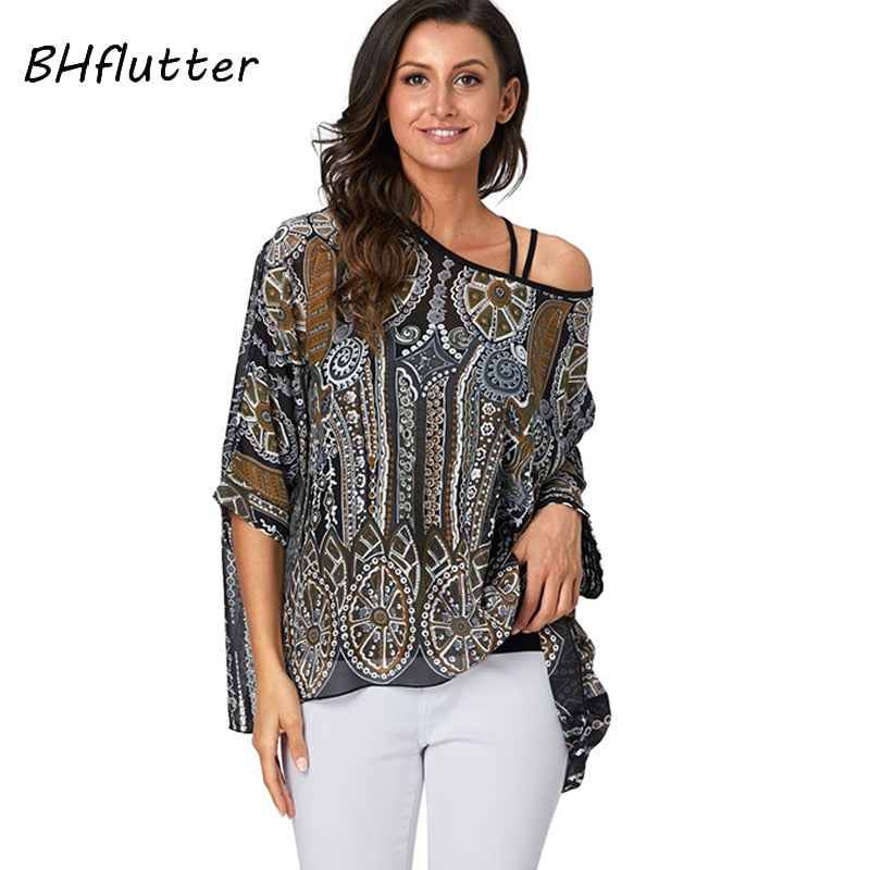 Women's Chic Off Shoulder Blouse