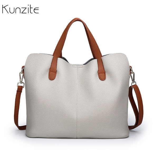 New Fashion Women Leather Look Handbag