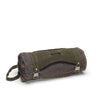 organic waxed canvas festival blanket or yoga mat carrier - aTana Baba Wrap - Olive Green