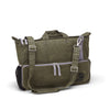 Messenger bag made from 100% organic waxed canvas. Olive - aTana Day Tripper