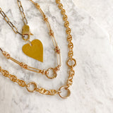Miranda Heart Necklace