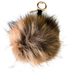 brown raccoon key chain
