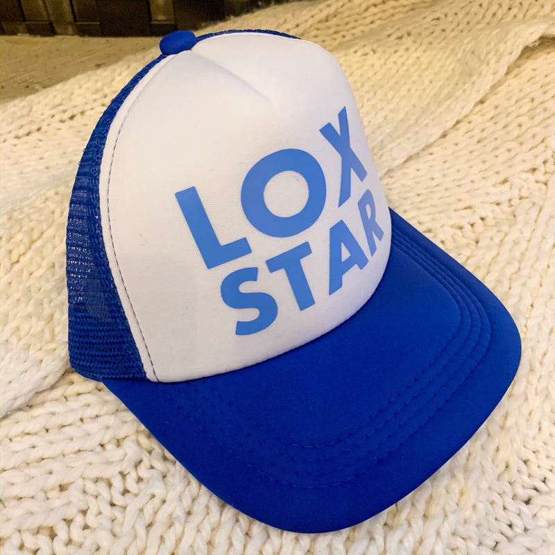 Lox Star hat.   Baseball style hat. Hat is adjustable.