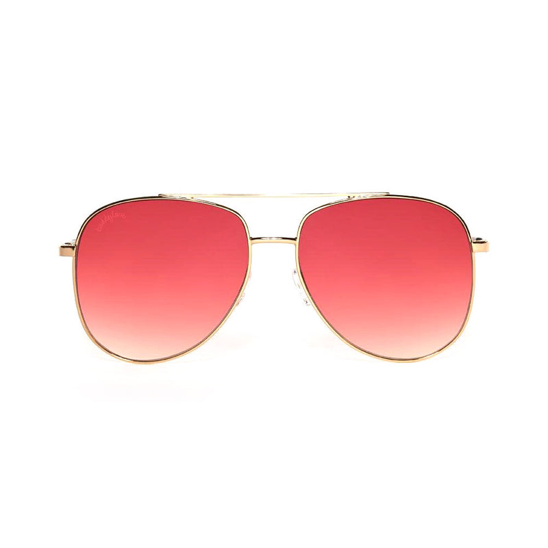Pink Maverick Aviator sunglasses
