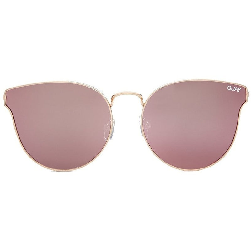 feminine pink cat eye sunglasses from Quay. Trendy pink sunglasses. Summer trend, spring 2019,  coachella, music festival