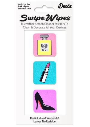 Perfume SwipeWipes Screen Cleaner Sticker