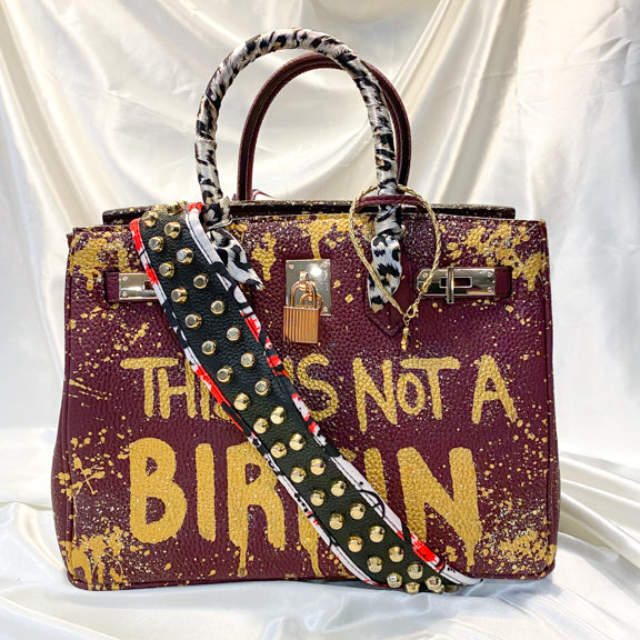 This is Not a Birkin Large Handbag