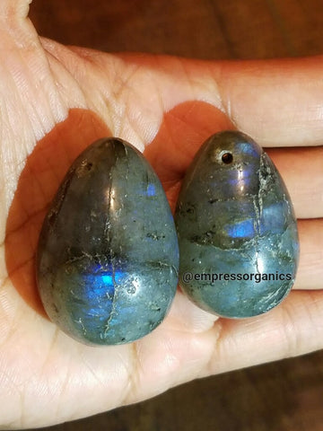 Labradorite Gemstone Eggs