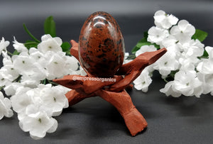Load image into Gallery viewer, Mahogany Jasper Yoni Eggs