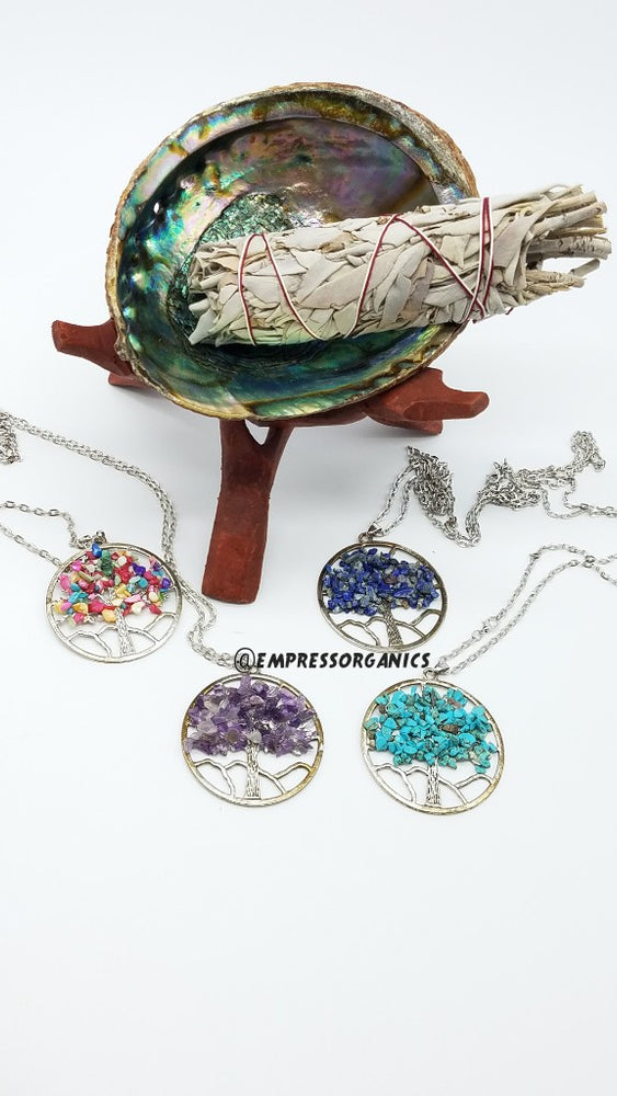 Round Tree of Life Necklace & Pendant