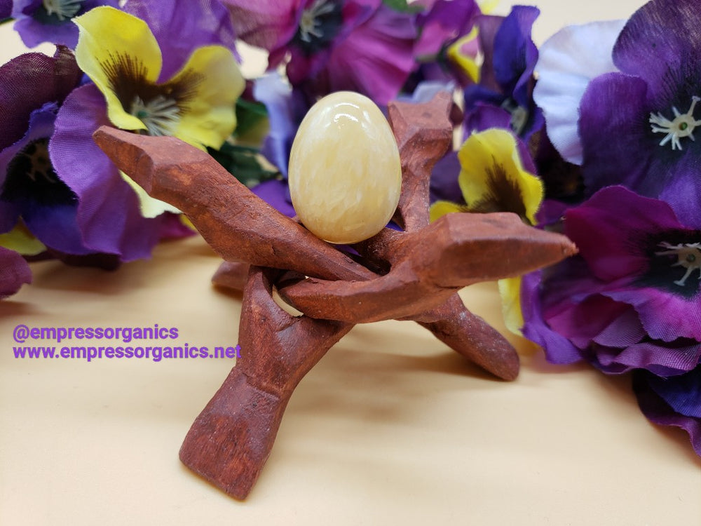 Load image into Gallery viewer, Yellow Jade Yoni Eggs