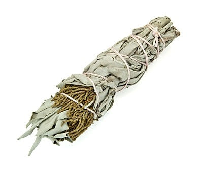 "White Sage & Juniper Smudge Stick - 5""L (Small)"