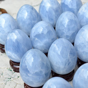 Load image into Gallery viewer, Blue Calcite Eggs
