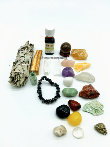 19 Piece Chakra Small Gemstone Set