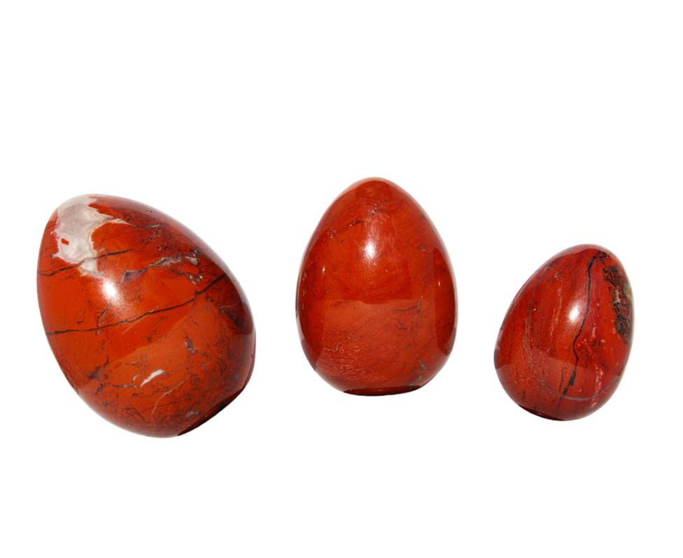 Load image into Gallery viewer, Red Jasper Yoni Eggs