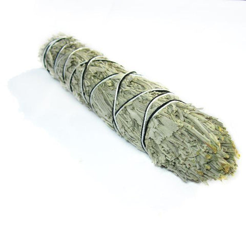 "Blue Sage Smudge Stick - 8""L (Large)"