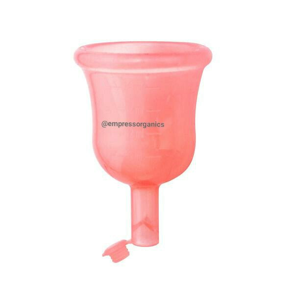 Menstrual Cups Drain Valve with Lid