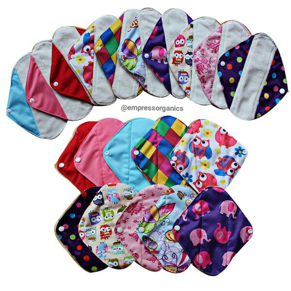 Organic Cloth Reusable Panty Liners