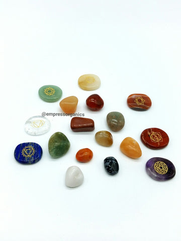 10 Piece Tumbled Gemstone Set