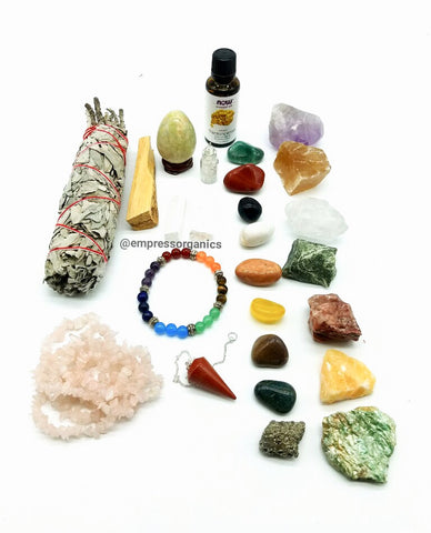 23 Piece Chakra Large Gemstone Set