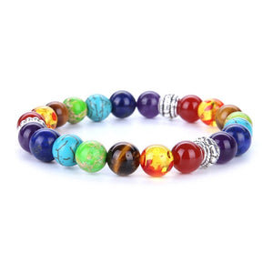 Load image into Gallery viewer, Chakra Gemstone Bracelet