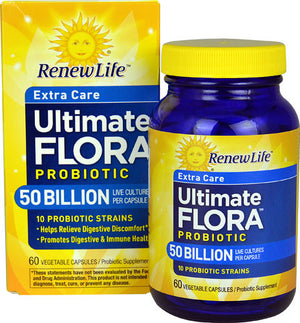 Load image into Gallery viewer, ULTIMATE FLORA EXTRA CARE PROBIOTIC 50 BILLION (60 VEGGIE CAPSULES)