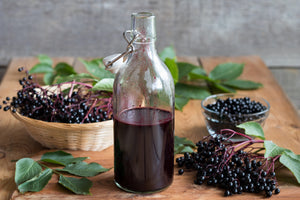 Load image into Gallery viewer, Organic Elderberry Syrup