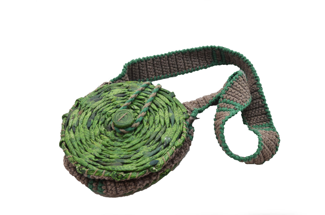 Weaved Round Bag (Medium)