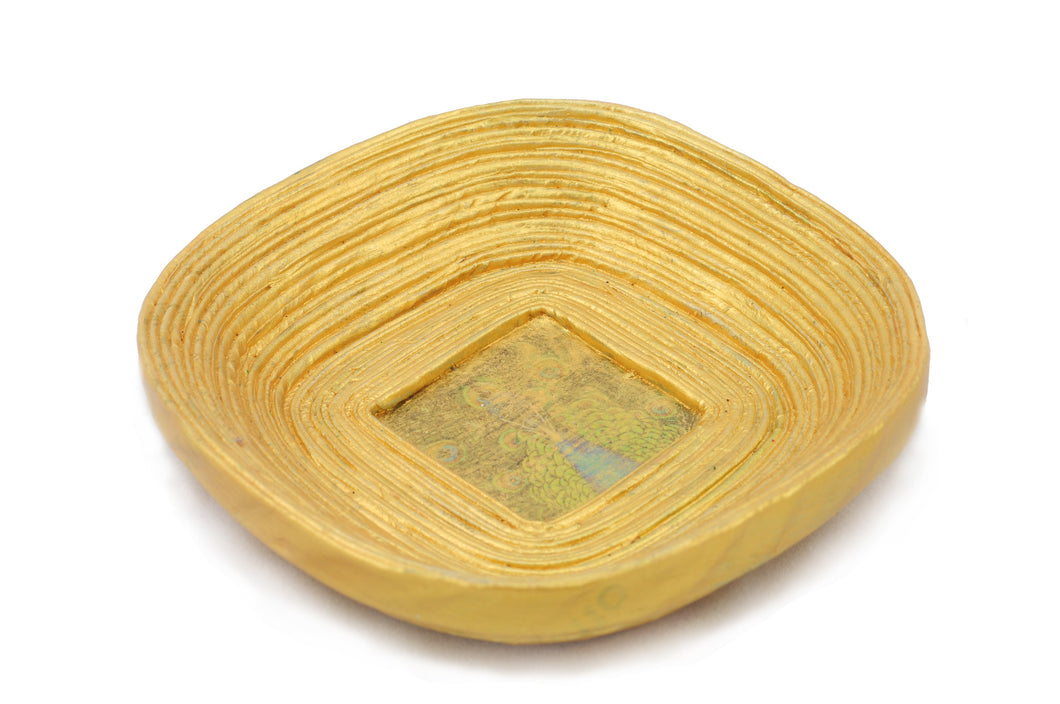 Coiled Bowl Square (11cm)