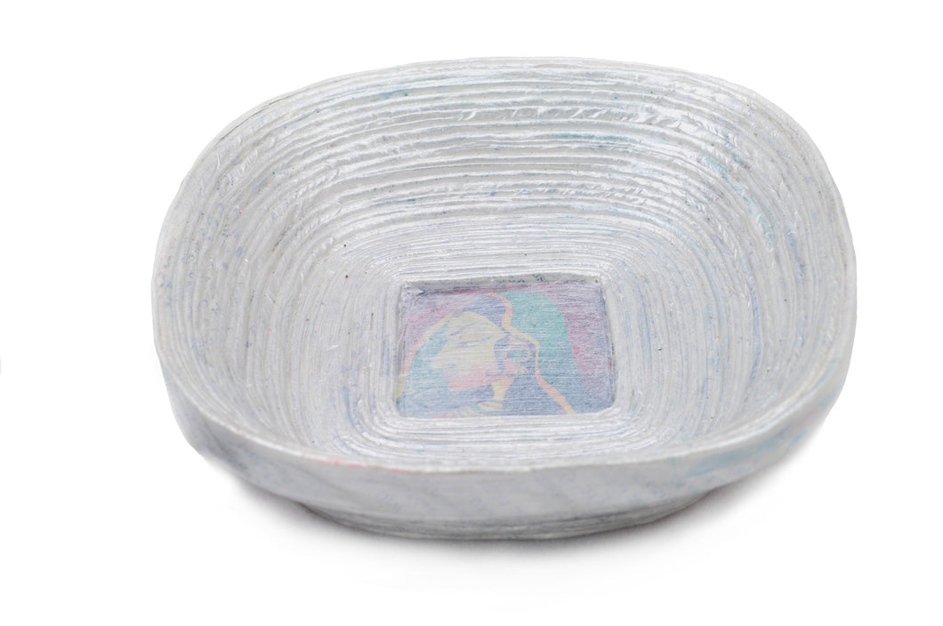 Corporate Rolled Bowl Square (12cm)