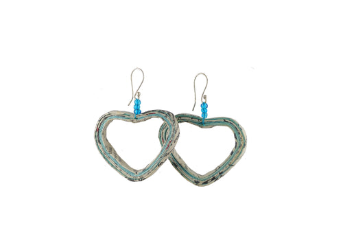 Heart Earrings (Large)