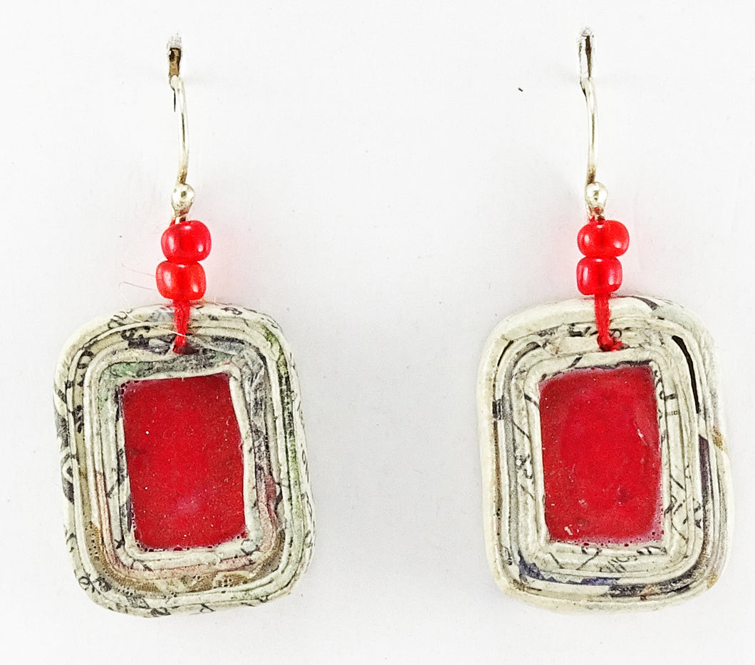 Square Earrings REB25