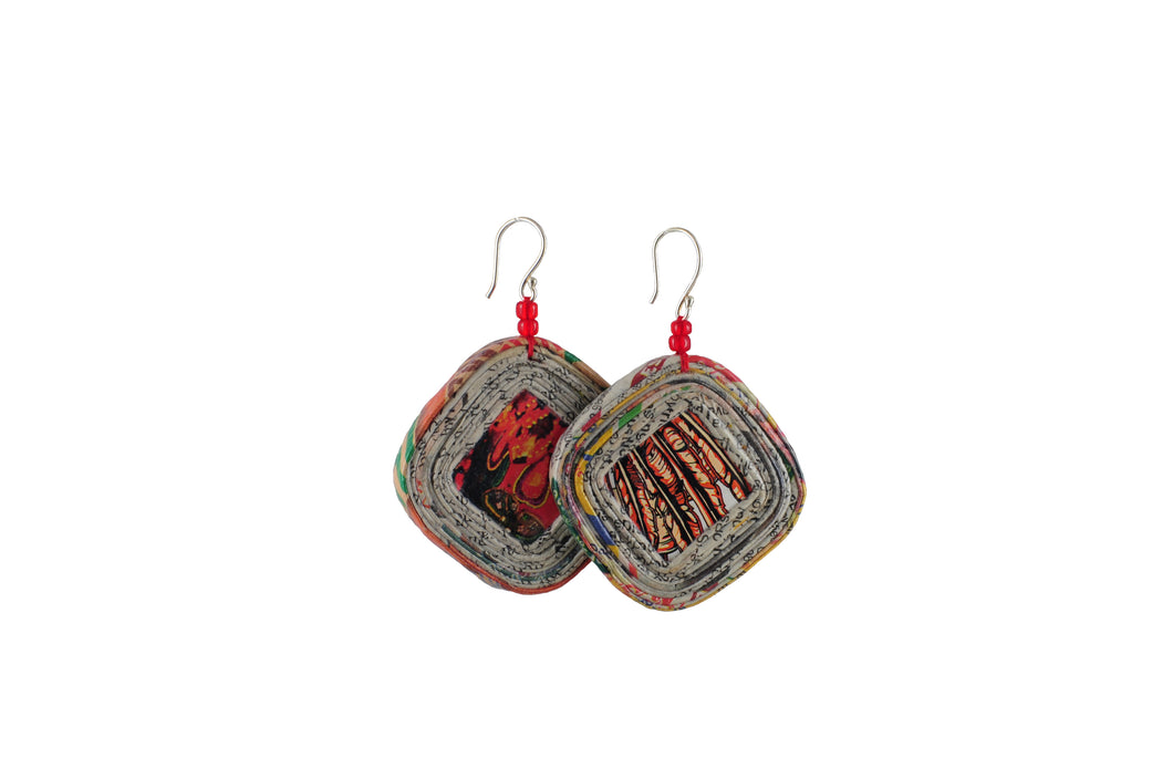 Coiled Earrings